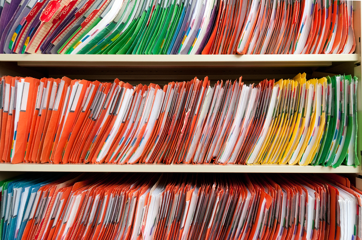 Medical records for billing and coding review