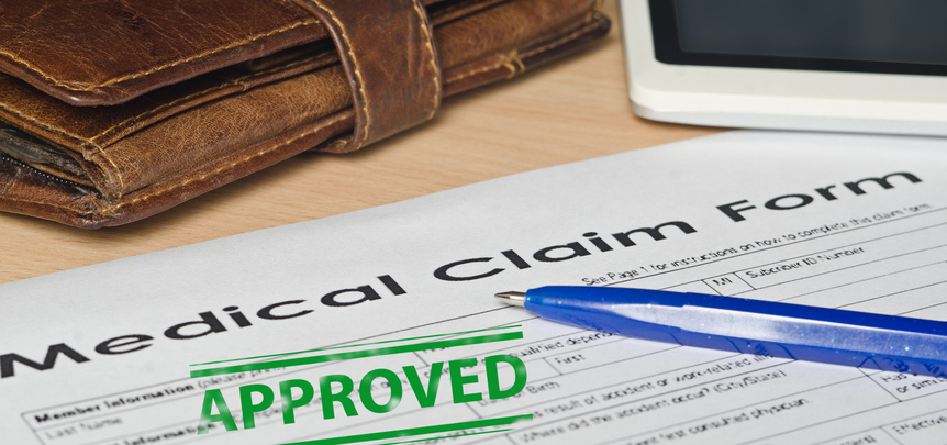 Application approval for healthcare reimbursement services