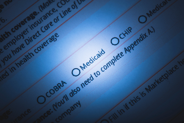 Long-term Institutional Medicaid form